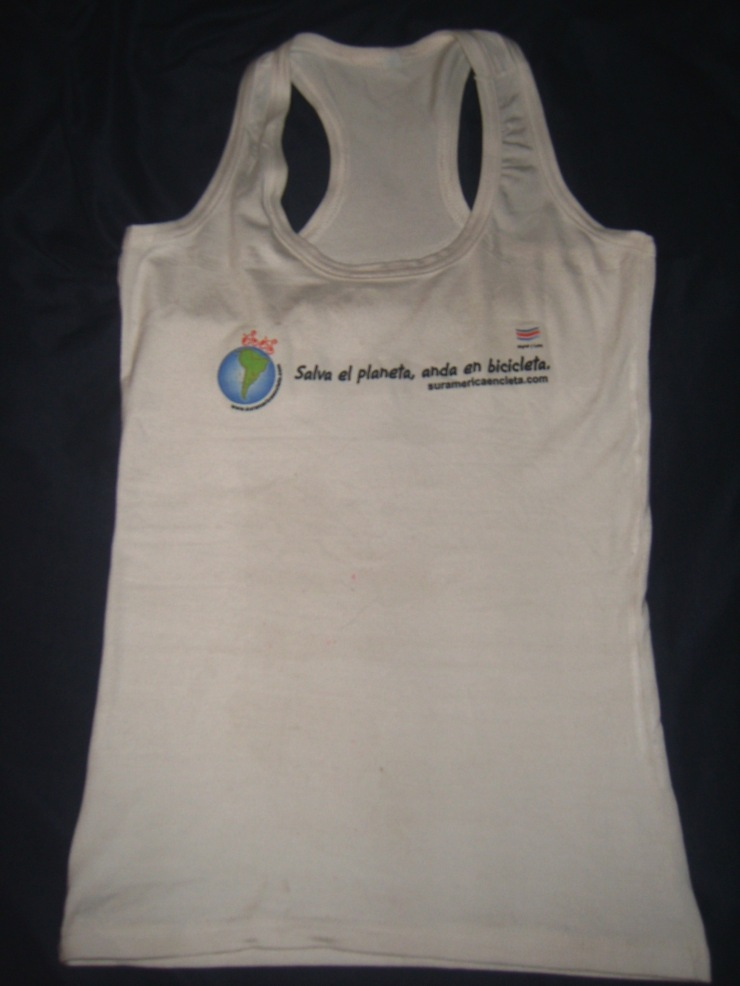 Camiseta de frente