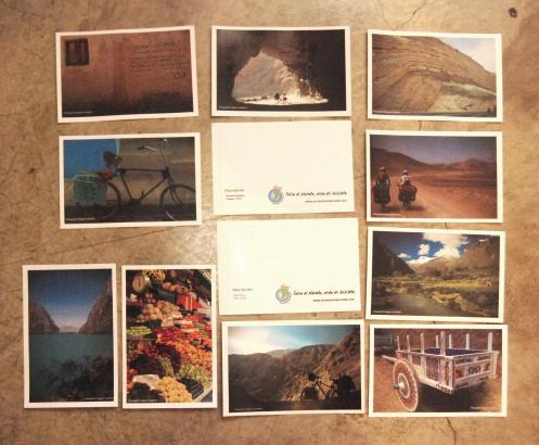 originales postales de suramericaencleta
