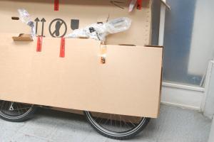 Bici empacada