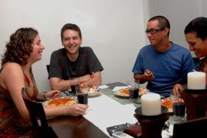 Cena con Jack y Alvaro