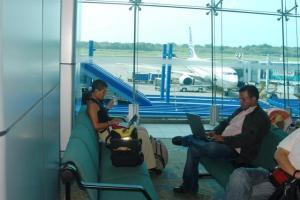 Espera en el aeropuerto