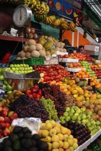 Frutas del mercado Paloquemao