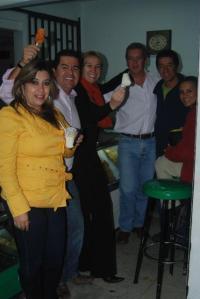 Pedro y sus amigos de cicla