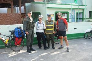 Oscar y el policía ciclista