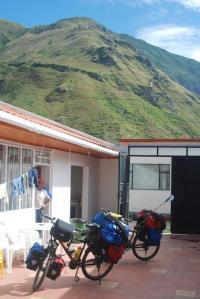 Vista desde el patio en Pilcual