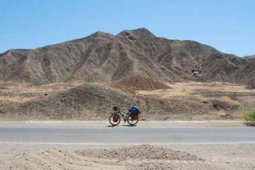 La bici en el desierto