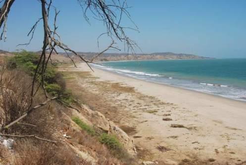 Una playa peruana