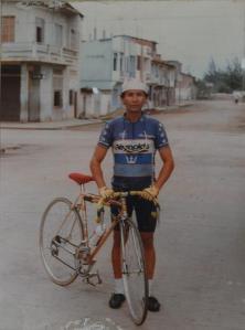 Silvio Tomaselli, el ciclista master