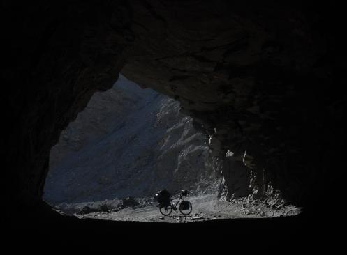 Entrando al tunel