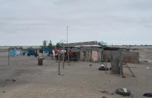 Acampando en medio desierto, casa de Pablo Cesar