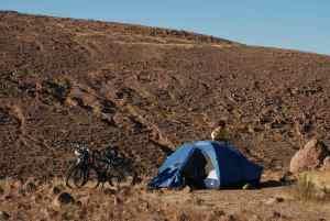 Campamento primer día