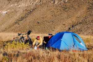 Campamento segundo día