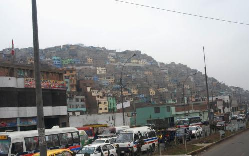 A las afueras de Lima