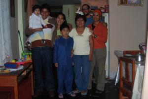 Doña Hilda y su familia