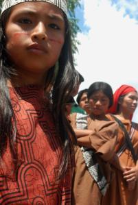 Nativos de la selva central