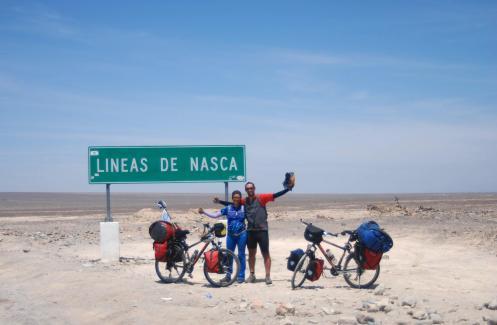 Llegada a las Líneas de Nazca