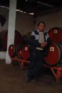 Naldo y su bodega de vino