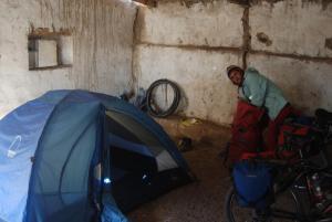 Camping en comedor