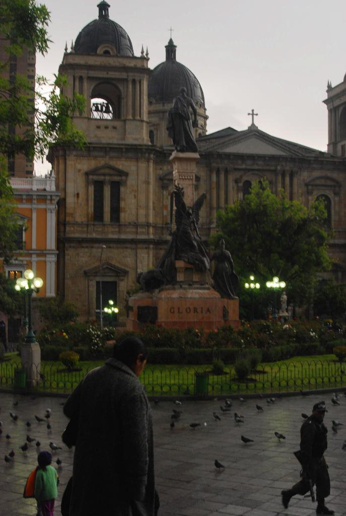 centro de La Paz