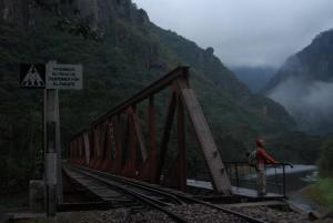 El amanecer en el Puente
