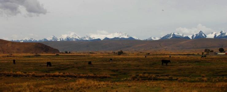 Los nevados de Bolivia