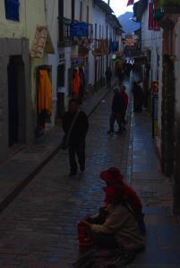 Por los callejones de Cusco
