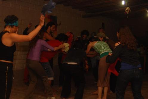 Danza en el Festival de Humahuaca