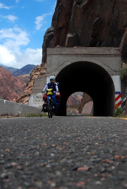 cruzando los túneles