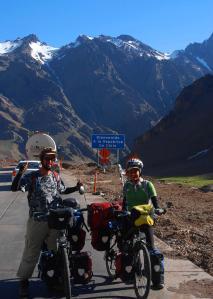 Ingresando a Chile por Los Andes