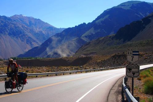 Saliendo de Mendoza