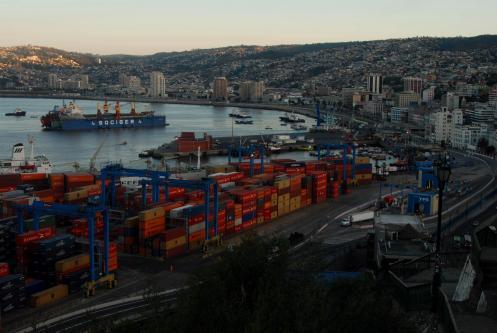 El puerto de Valparaiso