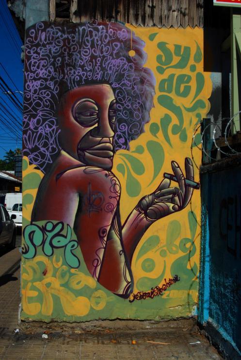 Grafitti, arte callejero