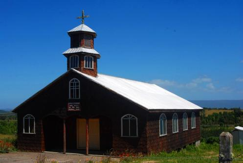 Iglesia de madera de Chiloé