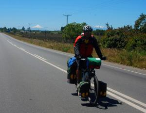 Pedro en Bici