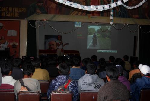 Charla en colegio Tecnológico de Puno