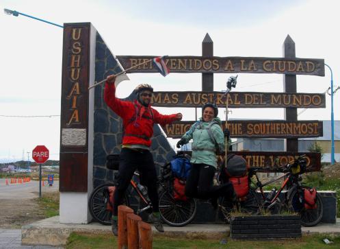 ... y llegamos a Ushuaiaaaaa!!!