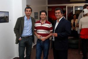 Mauro D´Annunzio, Esteban Ureña y Agustín Castillo