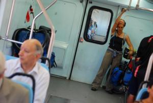 bicis en el tren