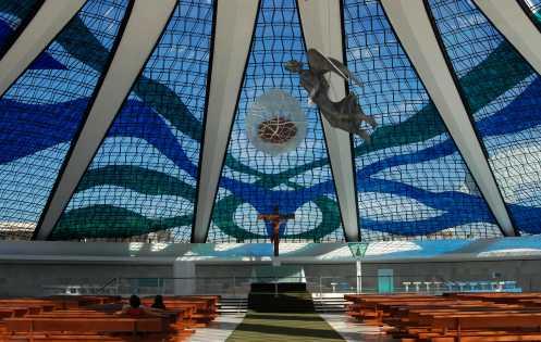 los vitrales de la Catedral