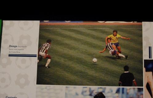 Costa Rica presente en la memoria del fútbol de Brasil