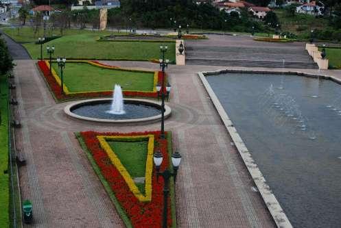 Jardines del Parque Targuá