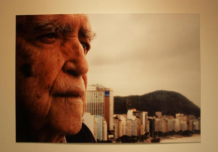 Retrato de Oscar Niemeyer