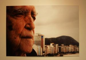Retrato de Oscar Niemeyer