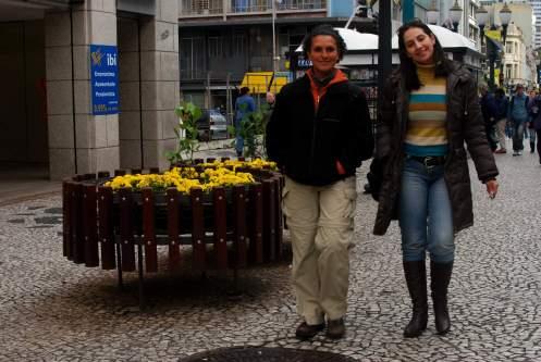 paseando con Silvia
