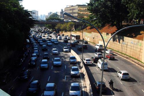 300 km de congestionamiento
