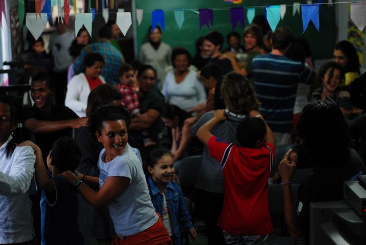 Charla en Favela Vidigal