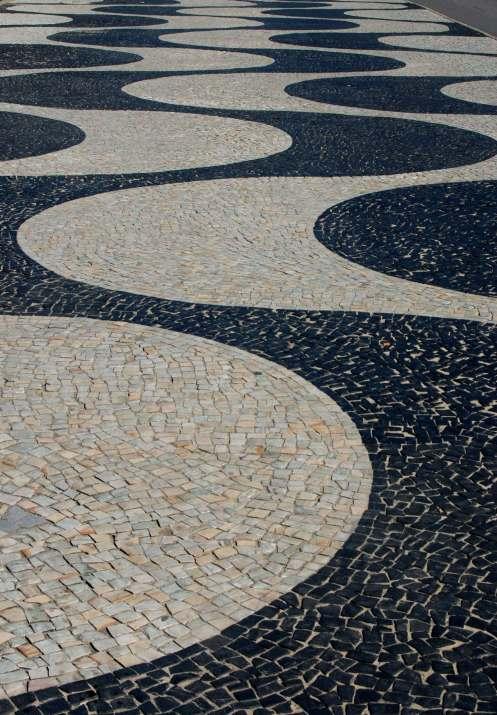 las veredas de Copacabana