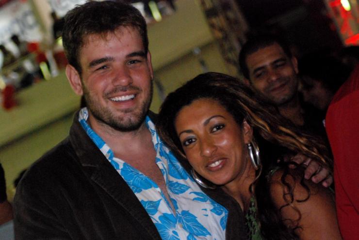 Diego y su novia