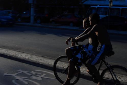 Por la ciclovía