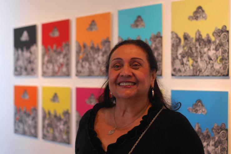 Ligia Aguiar, artista plástica Bahiana